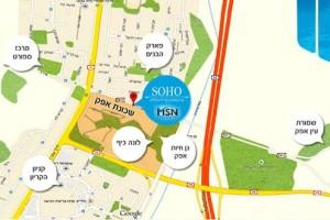 פרויקט Soho מפה