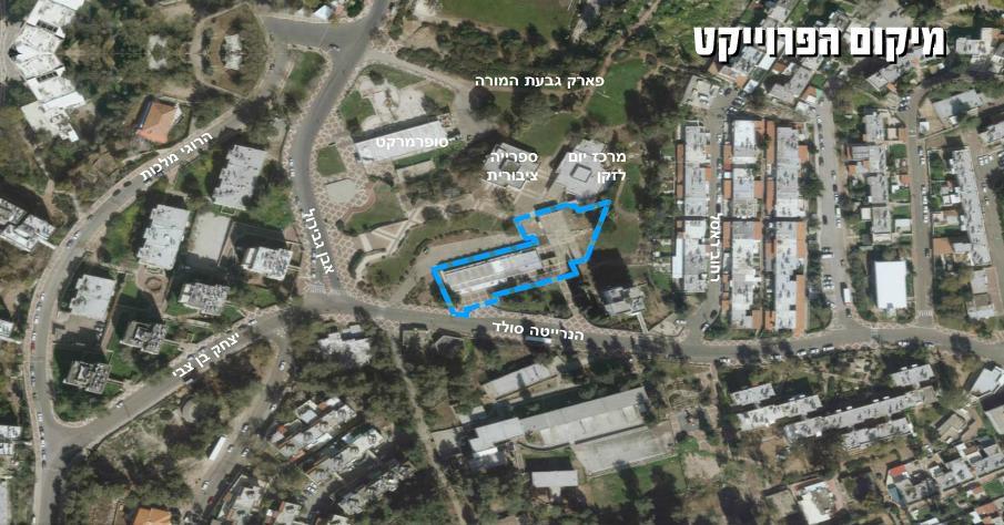 מפה Univercity msn